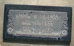 Anna Augusta <I>Bringhurst</I> Naegle