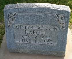 Annis Rebecca <I>Jackson</I> Naegle
