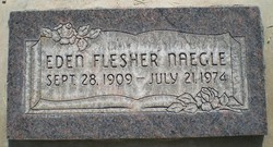 Eden Edith <I>Flesher</I> Naegle