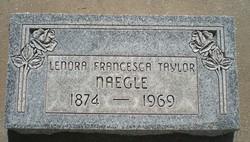 Leonora Francesca <I>Taylor</I> Naegle