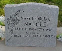 Mary Georgina Naegle