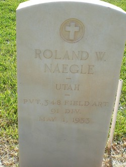 Roland W Naegle