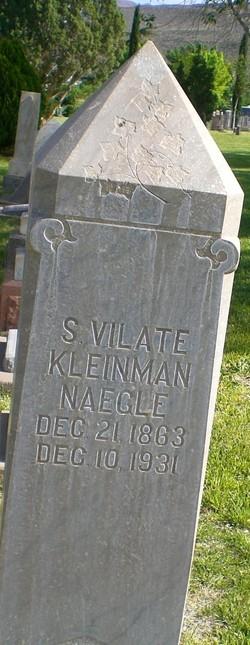 Susan Vilate <I>Spilsbury</I> Naegle