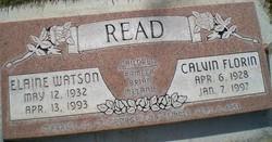 Calvin Florin Read