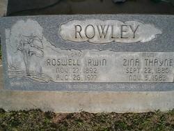 Roswell Irwin Rowley
