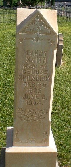 Fanny <I>Smith</I> Spilsbury