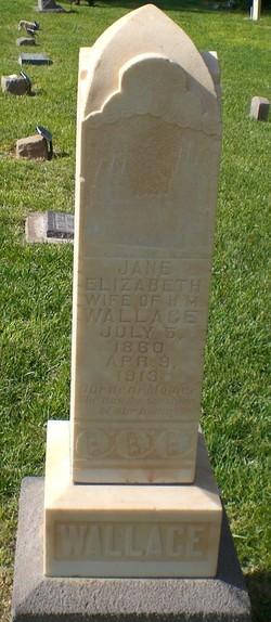 Jane Elizabeth <I>Stapley</I> Wallace