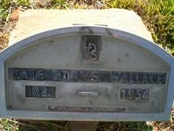 Kate Bailey <I>Adams</I> Wallace