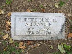 Clifford Burette Alexander
