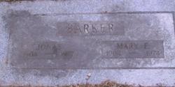 Mary E Barker