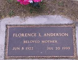 Florence L <I>Trask</I> Anderson