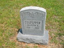 Braxton Bragg Culpepper