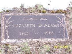 Elizabeth D Adams