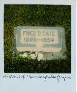 Fred D Cate