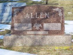 Esther A <I>Sinecki</I> Allen