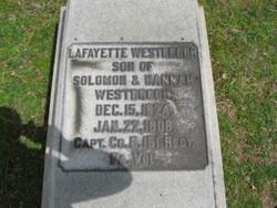 """Capt Lafayette """"Lafe"""" Westbrook"""