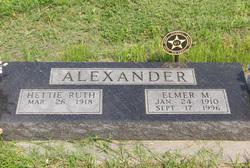 Elmer M Alexander