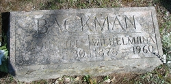 Wilhelmina <I>Koskela</I> Backman