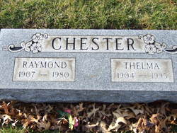 Thelma Ruth <I>Fitzgerald</I> Chester