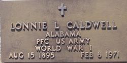 Pvt Lonnie Lawrence Caldwell