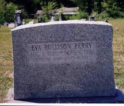 Eva <I>Rollison</I> Perry