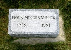 Nona Ellen <I>Minges</I> Miller