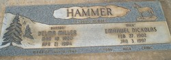 "Emanuel Nicholas ""Dick"" Hammer"