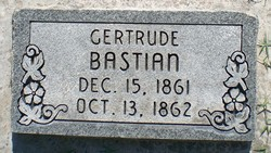 Gertrude J Bastian