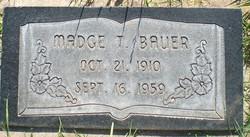 Madge <I>Turnbeaugh</I> Bauer