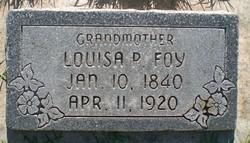 Louisa <I>Potterill</I> Foy