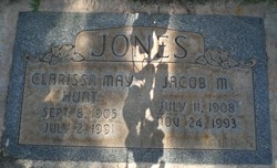 Clarissa May <I>Hunt</I> Jones