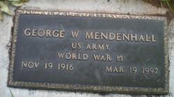 George William Mendenhall