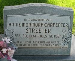 Annie Mormora Streeter
