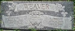 Lilly Vay <I>Sperry</I> Weaver