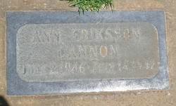 Ann Erickson Cannon