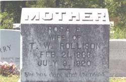 Rosa Etta <I>Coffey</I> Rollison