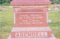 Mary Jane <I>Curtis</I> Arendell
