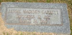 Lessie Henrietta <I>Madison</I> Garrett