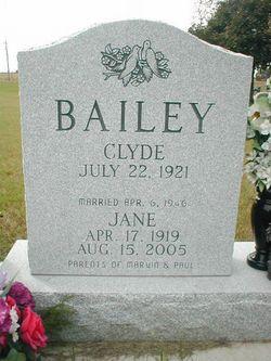 Clyde Eugene Bailey