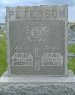"""Livona Mary """"Vona"""" <I>Taylor</I> Peterson"""