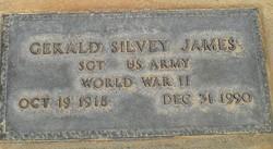 Gerald Silvey James