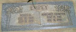 Margaret Afton <I>Thompson</I> Empey