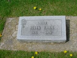 Helen Adeline Riege