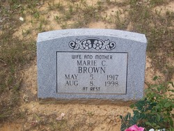 Marie Catherine <I>Anderson</I> Brown