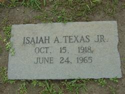 Isaiah A. Texas, Jr