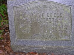 William Eldridge Tillotson