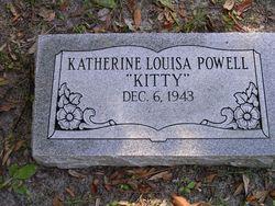 """Katherine Louisa """"Kitty"""" Powell"""