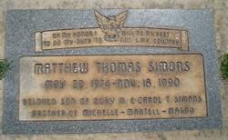 Matthew Thomas Simons