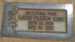 Lavon Parkin King