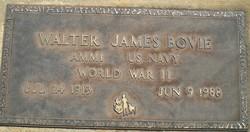 Walter James Bovie